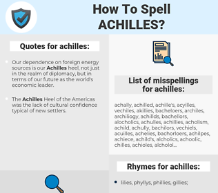 achilles, spellcheck achilles, how to spell achilles, how do you spell achilles, correct spelling for achilles