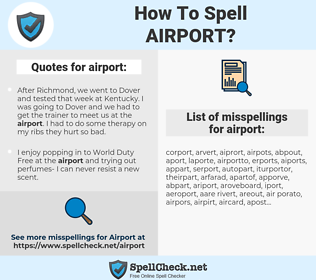 airport, spellcheck airport, how to spell airport, how do you spell airport, correct spelling for airport