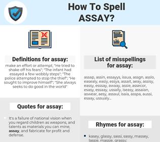 assay, spellcheck assay, how to spell assay, how do you spell assay, correct spelling for assay