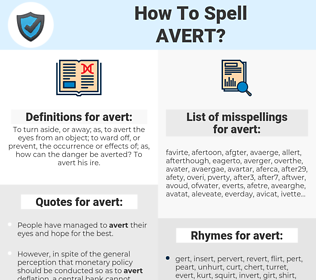 avert, spellcheck avert, how to spell avert, how do you spell avert, correct spelling for avert