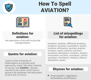 aviation, spellcheck aviation, how to spell aviation, how do you spell aviation, correct spelling for aviation