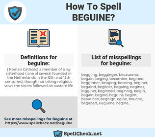 beguine, spellcheck beguine, how to spell beguine, how do you spell beguine, correct spelling for beguine