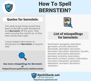 bernstein, spellcheck bernstein, how to spell bernstein, how do you spell bernstein, correct spelling for bernstein