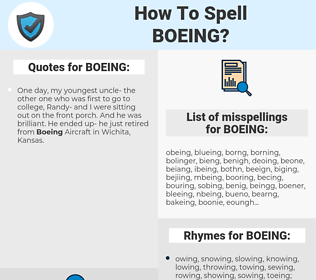 BOEING, spellcheck BOEING, how to spell BOEING, how do you spell BOEING, correct spelling for BOEING
