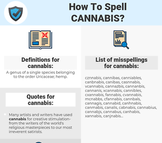 cannabis, spellcheck cannabis, how to spell cannabis, how do you spell cannabis, correct spelling for cannabis