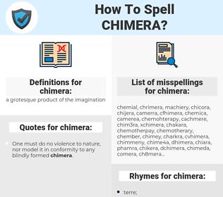 chimera, spellcheck chimera, how to spell chimera, how do you spell chimera, correct spelling for chimera