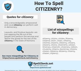 citizenry, spellcheck citizenry, how to spell citizenry, how do you spell citizenry, correct spelling for citizenry