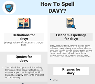 davy, spellcheck davy, how to spell davy, how do you spell davy, correct spelling for davy
