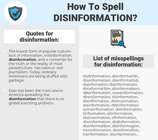 disinformation, spellcheck disinformation, how to spell disinformation, how do you spell disinformation, correct spelling for disinformation