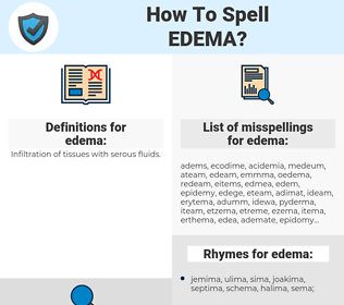 edema, spellcheck edema, how to spell edema, how do you spell edema, correct spelling for edema