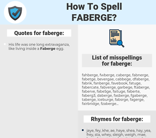 faberge, spellcheck faberge, how to spell faberge, how do you spell faberge, correct spelling for faberge