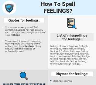 feelings, spellcheck feelings, how to spell feelings, how do you spell feelings, correct spelling for feelings