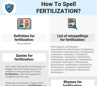 fertilization, spellcheck fertilization, how to spell fertilization, how do you spell fertilization, correct spelling for fertilization