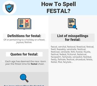 festal, spellcheck festal, how to spell festal, how do you spell festal, correct spelling for festal