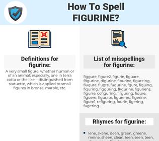 figurine, spellcheck figurine, how to spell figurine, how do you spell figurine, correct spelling for figurine
