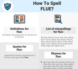 flue, spellcheck flue, how to spell flue, how do you spell flue, correct spelling for flue
