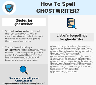 Ghostwriter spell check jane eyre bronte charlotte summary