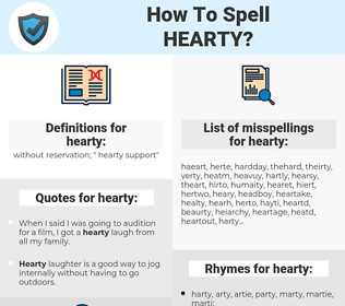 hearty, spellcheck hearty, how to spell hearty, how do you spell hearty, correct spelling for hearty