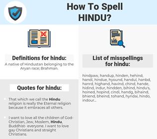 hindu, spellcheck hindu, how to spell hindu, how do you spell hindu, correct spelling for hindu