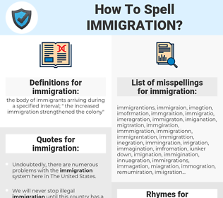 immigration, spellcheck immigration, how to spell immigration, how do you spell immigration, correct spelling for immigration