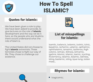 islamic, spellcheck islamic, how to spell islamic, how do you spell islamic, correct spelling for islamic
