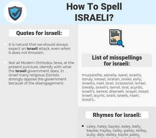 israeli, spellcheck israeli, how to spell israeli, how do you spell israeli, correct spelling for israeli