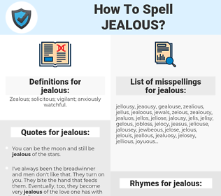 jealous, spellcheck jealous, how to spell jealous, how do you spell jealous, correct spelling for jealous