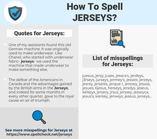 Jerseys, spellcheck Jerseys, how to spell Jerseys, how do you spell Jerseys, correct spelling for Jerseys