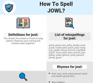 jowl, spellcheck jowl, how to spell jowl, how do you spell jowl, correct spelling for jowl