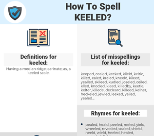 keeled, spellcheck keeled, how to spell keeled, how do you spell keeled, correct spelling for keeled