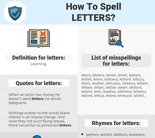 letters, spellcheck letters, how to spell letters, how do you spell letters, correct spelling for letters