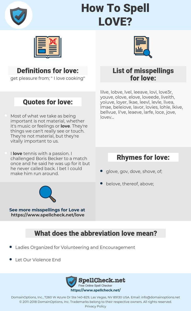 love, spellcheck love, how to spell love, how do you spell love, correct spelling for love