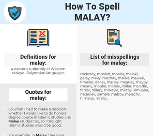 malay, spellcheck malay, how to spell malay, how do you spell malay, correct spelling for malay