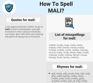 mali, spellcheck mali, how to spell mali, how do you spell mali, correct spelling for mali