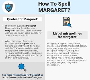 Margaret, spellcheck Margaret, how to spell Margaret, how do you spell Margaret, correct spelling for Margaret