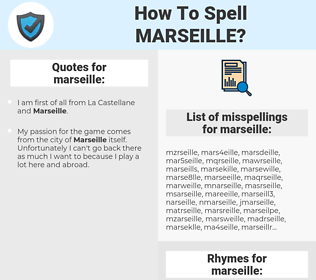 marseille, spellcheck marseille, how to spell marseille, how do you spell marseille, correct spelling for marseille
