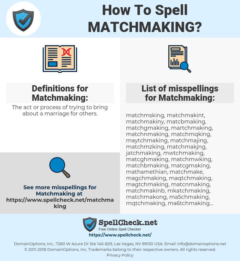 Internet Matchmaking voor actc