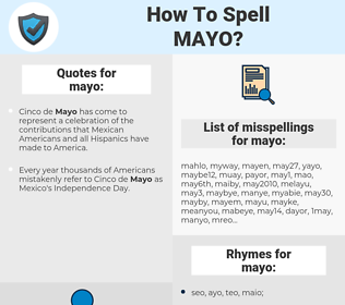 mayo, spellcheck mayo, how to spell mayo, how do you spell mayo, correct spelling for mayo