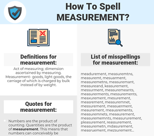 measurement, spellcheck measurement, how to spell measurement, how do you spell measurement, correct spelling for measurement