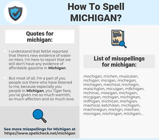 michigan, spellcheck michigan, how to spell michigan, how do you spell michigan, correct spelling for michigan
