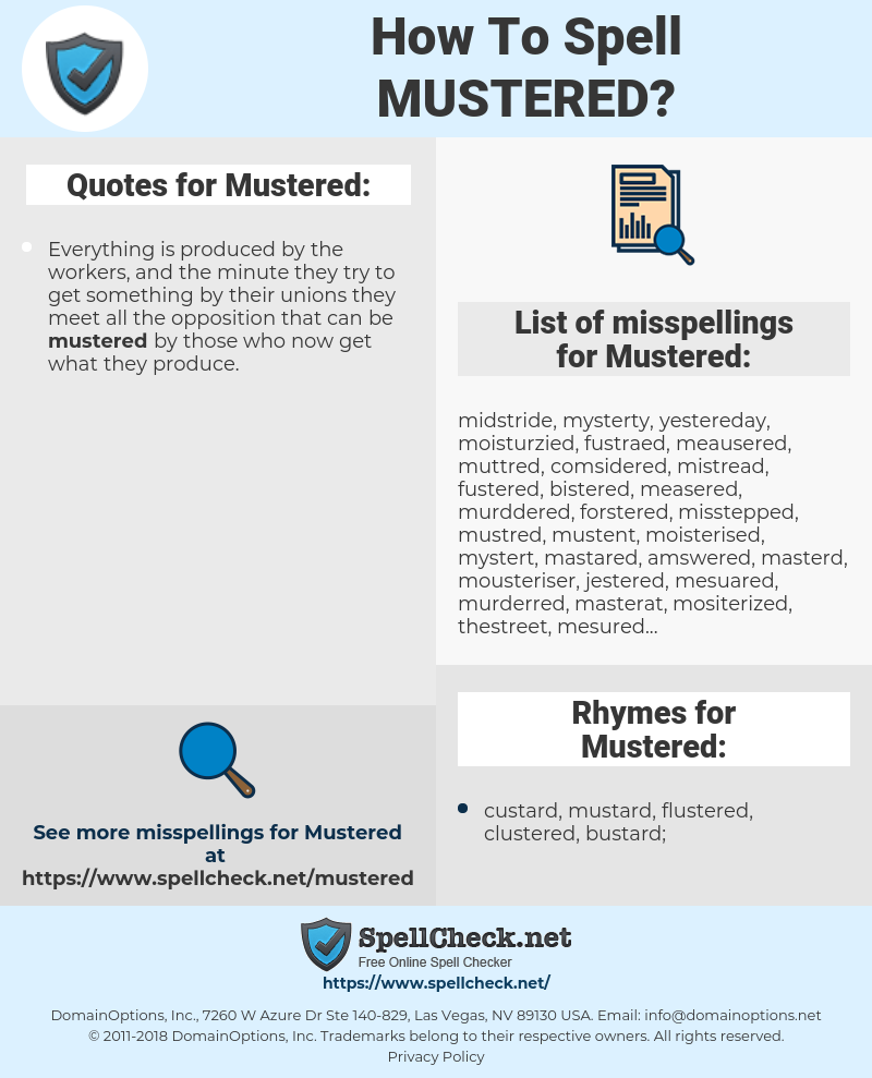 Mustered, spellcheck Mustered, how to spell Mustered, how do you spell Mustered, correct spelling for Mustered