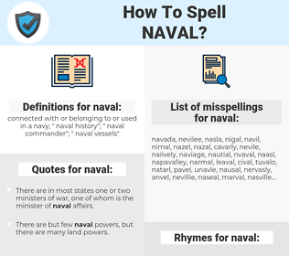 naval, spellcheck naval, how to spell naval, how do you spell naval, correct spelling for naval