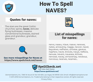 naves, spellcheck naves, how to spell naves, how do you spell naves, correct spelling for naves
