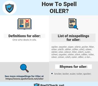 oiler, spellcheck oiler, how to spell oiler, how do you spell oiler, correct spelling for oiler