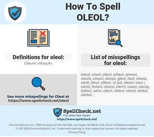 oleol, spellcheck oleol, how to spell oleol, how do you spell oleol, correct spelling for oleol