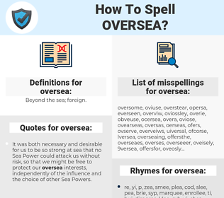 oversea, spellcheck oversea, how to spell oversea, how do you spell oversea, correct spelling for oversea