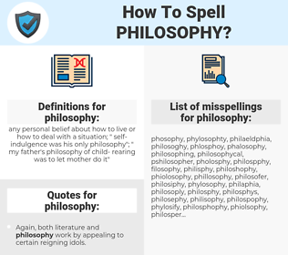 philosophy, spellcheck philosophy, how to spell philosophy, how do you spell philosophy, correct spelling for philosophy