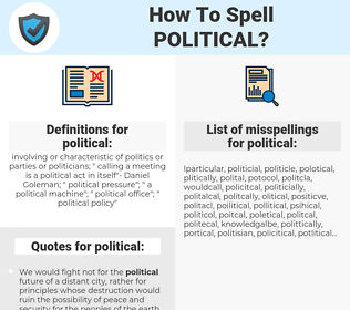 political, spellcheck political, how to spell political, how do you spell political, correct spelling for political