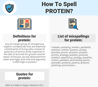 protein, spellcheck protein, how to spell protein, how do you spell protein, correct spelling for protein