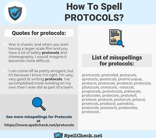 protocols, spellcheck protocols, how to spell protocols, how do you spell protocols, correct spelling for protocols